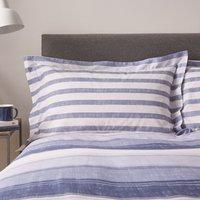 Dorma Hydrangea Blue Oxford Pillowcase